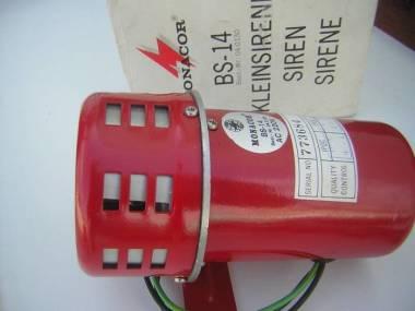 Sirena de alarma BS-14 Monacor 230V-A Sicurezza