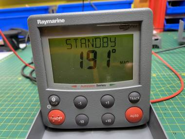 Raymarine ST 6002 display piloto Elettronica