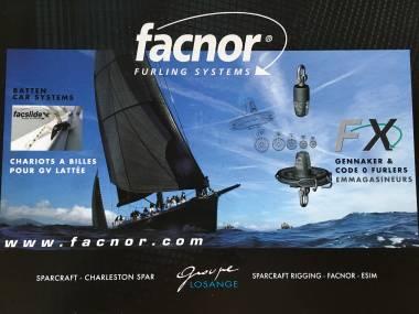 Enrollador Facnor FX Gennaker Code 0 Furler  Eq. coperta
