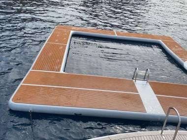 piscina inflable para mar Altro