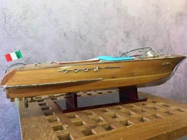 modellino riva aquarama legno chiaro 87cm Moda e complementi