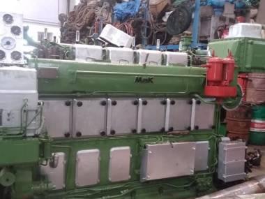 marine engine MAK 6M331-AK Motori