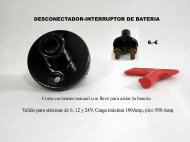 DESCONECTADOR DE BATERIA Elettricità