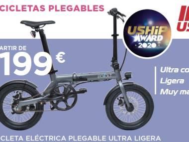 Bicicleta plegable ultra ligera Altro