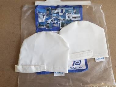 Fundas BLANCO de PVC pare winche. 2 piezas. Plastimo 40449  Eq. coperta