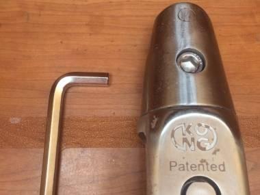 Grillete giratorio para ancla. Cadena de 12-14mm  Eq. coperta