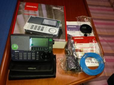 Ricevitore radio Sangean ATS - 909X Black Navigazione