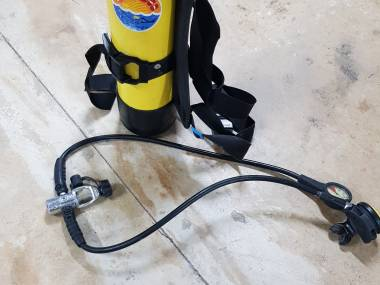 Botella 90 con regulador Sport subacquei