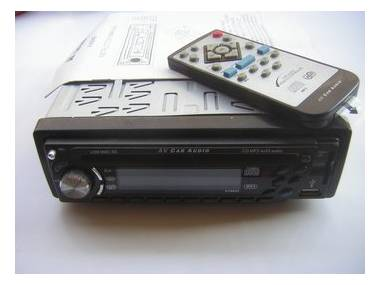 AV-AUDIO AV8840 radio-cd con USB y tarjeta MMC-SD Elettronica