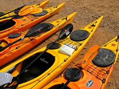 CANOE KAYAK DE MAR RAINBOW LASER - USADO  Kayaks/Canoe