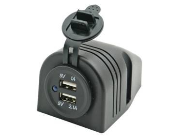 Conector Doble USB Superficie Altro