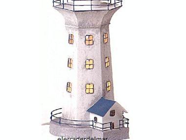 Faro náutico en hojalata Decor. Libri