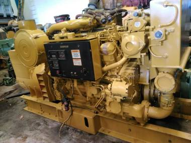 marine auxiliar engine caterpillar 3508 electronic of 1000 HP to 1500 R.P.M Motori