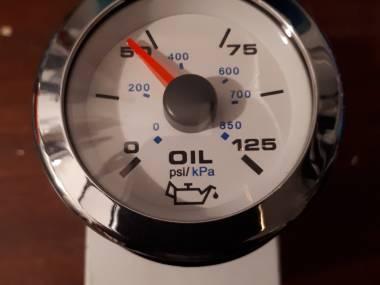 Reloj presión de aceite Elettronica