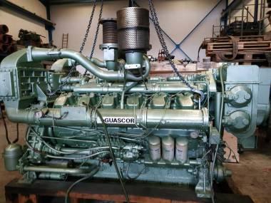 Dos Motores Guascor SF360 1180 c.v a 1800 r.p.m Motori