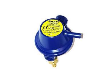 01280-04 GOK Marine Regulador de gas Mg = 0,8 pd = 30MB con válvula de alivio de sobrepresión Altro