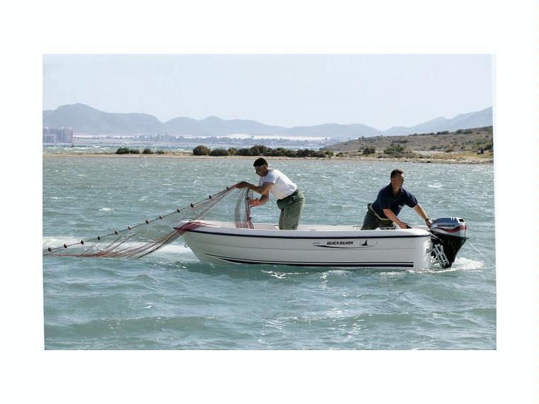 Quicksilver Captur 410 Fish Barca da pesca/day fishing