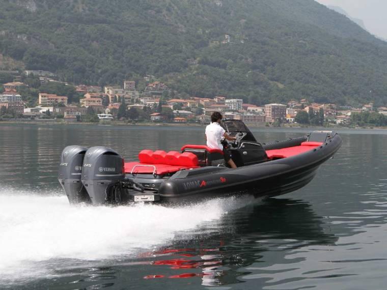 Lomac Adrenalina 9.0 FB Imbarcazione semirigida