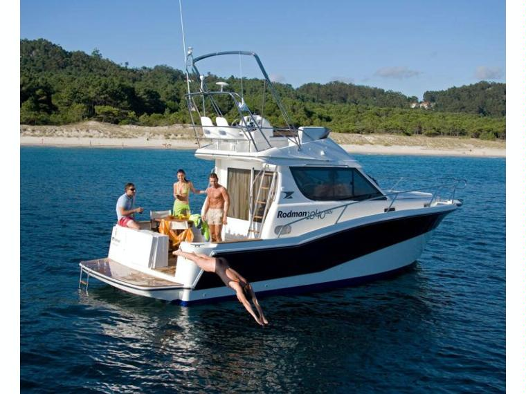Rodman 1040 Fisher&Cruiser Barca da pesca/day fishing