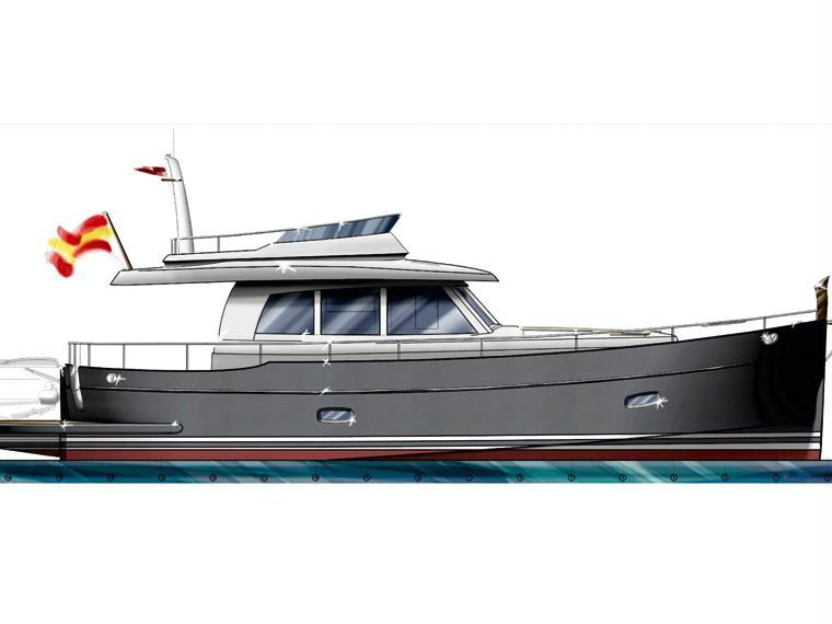 Sasga Yachts Minorchino 54 Imbarcazione cabinata