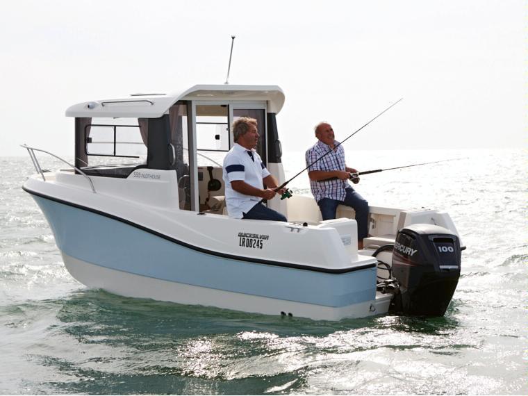 Quicksilver Captur 555 Pilothouse Barca da pesca/day fishing