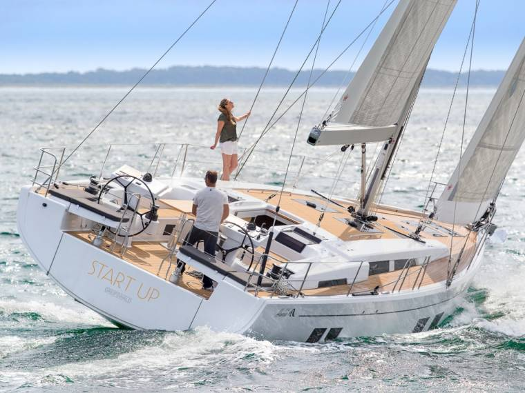 Hanse 548 Yacht a vela