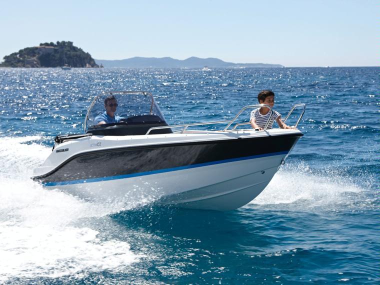 Quicksilver Activ 455 Open Imbarcazione aperta