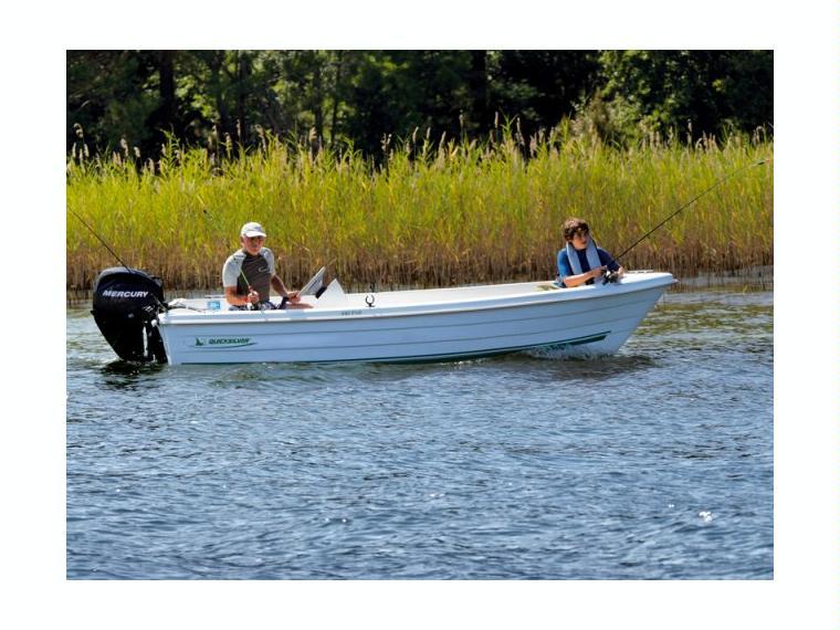 Quicksilver Captur 440 Fish Barca da pesca/day fishing