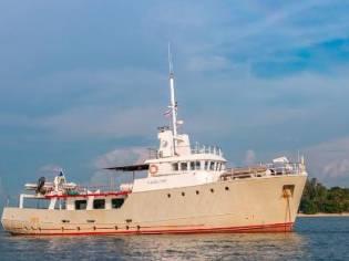 Custom 26m Expedition Trawler