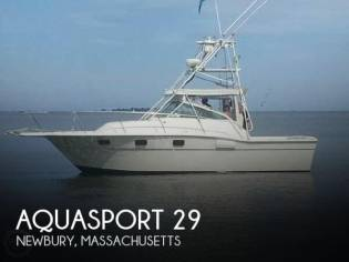Aquasport 290 Express Fisherman