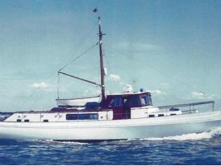 Laurent Giles TS Diesel Yacht