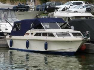 Motoryacht Windy 27 DC generalüberholt! (TK)