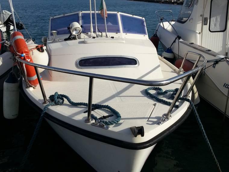 gozzo falco of mare 60 in puglia
