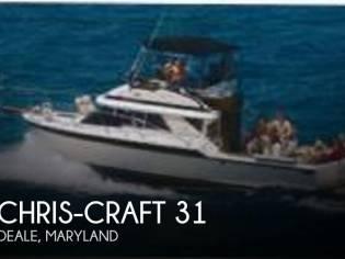 Chris-Craft 315 Commander