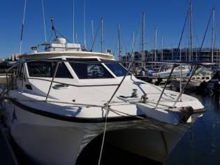 Custom Cougar Cat Charter Fishing Vessel