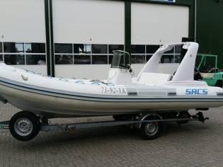 Sacs 590 met Suzuki 175 pk