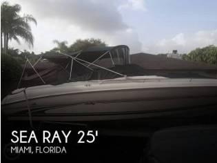 Sea Ray 260 Signature