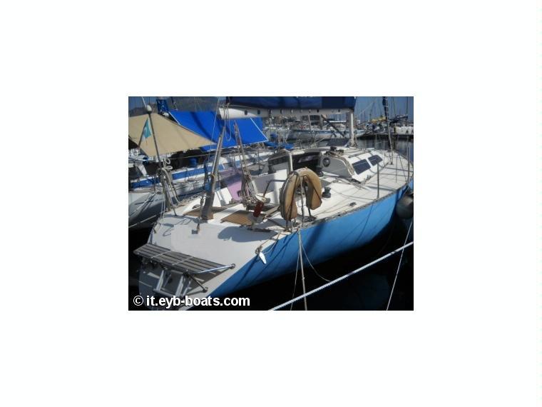 Isola 34 in sicilia barche a vela usate 00101 inautia for Cabine dell isola di buggs