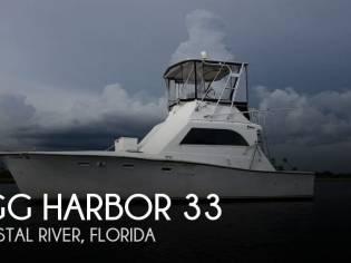Egg Harbor 33 Sedan Fisherman