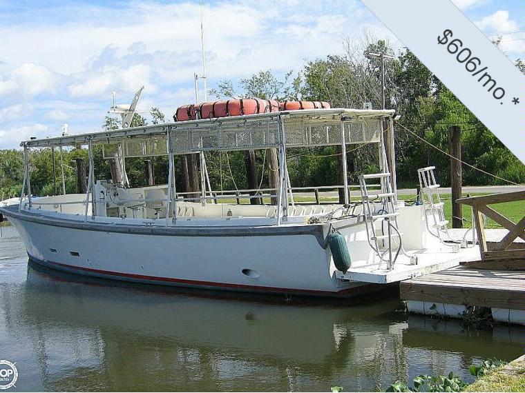 Willard 50 Fiberglass Diesel Dive Boat In Florida Barche