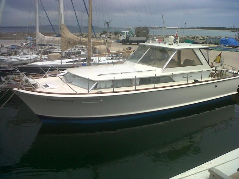 chris craft  commander 38 in formentera