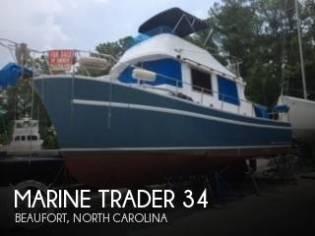 Marine Trader 34 Double Cabin Trawler