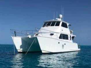 Custom Coral Coast Power Catamaran