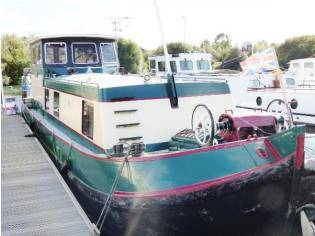 Dutch Barge Steel Barge