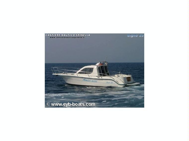 Spinella 25 giglio in italia barche a motore usate 00515 for Cabine di giglio selvatico