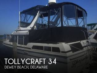 Tollycraft 34 sundeck