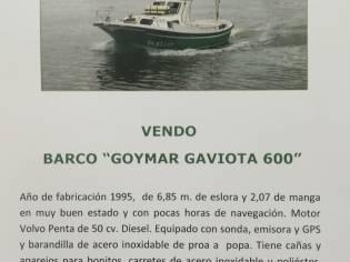 Goymar Gaviota 600
