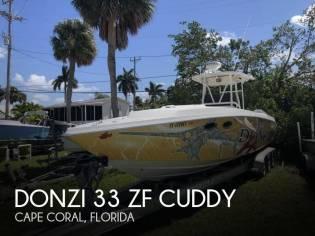 Donzi 33 ZF Cuddy
