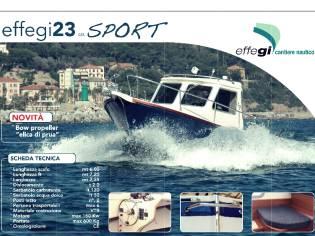 EFFEGI 23 gozzo cabinato tipo Sciallino