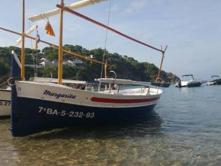 Barca de madera de 1968
